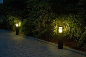 Lampa ogrodowa RADO II 2 BL small 1