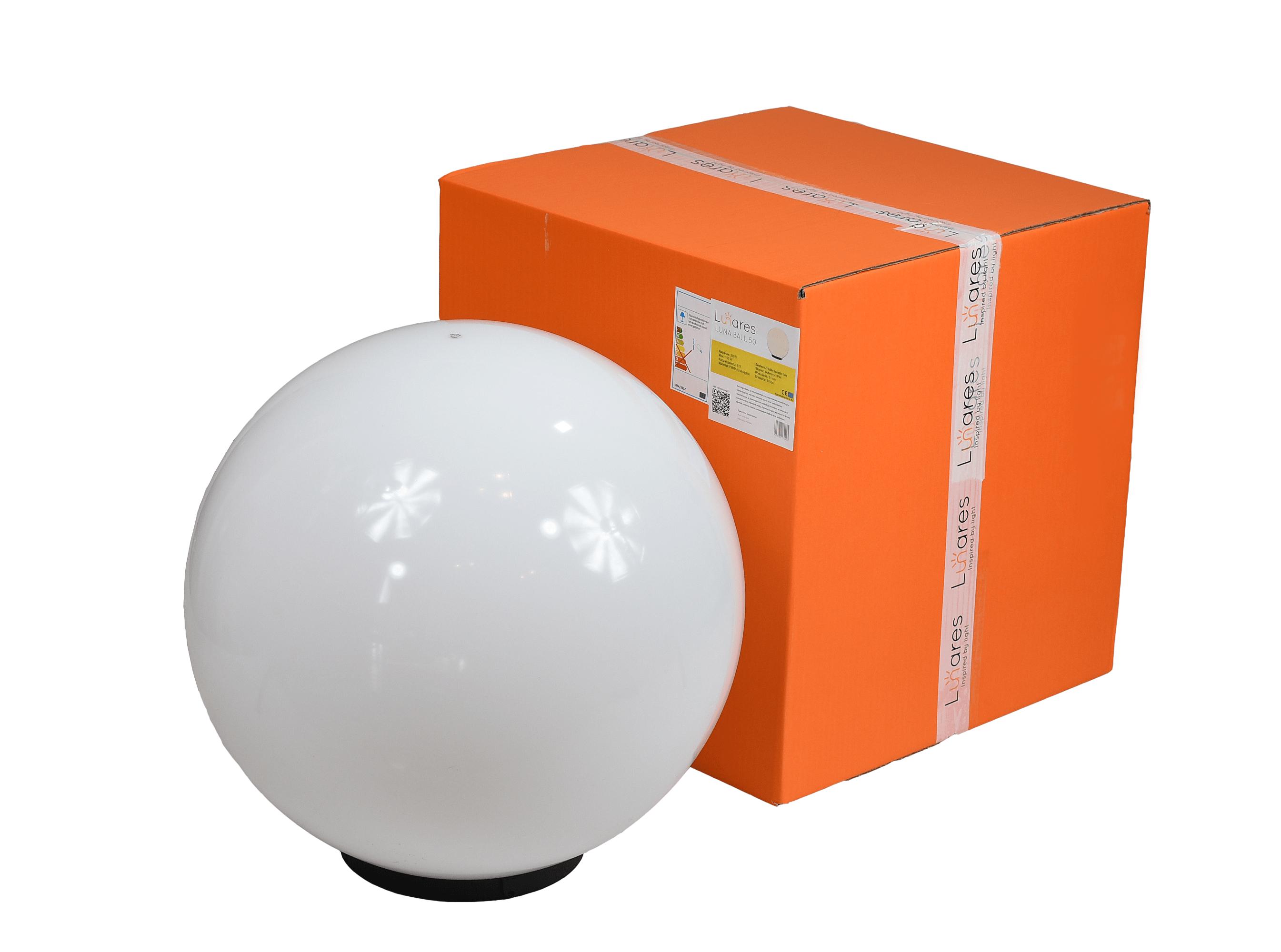 Dekoracyjna lampa ogrodowa Kula - Luna ball 50 cm