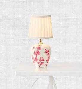 CHERRY Stołowa 33cm Biały/Różowy small 1