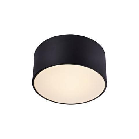 FACILE Plafon 22cm Czarny/Biały  IP44