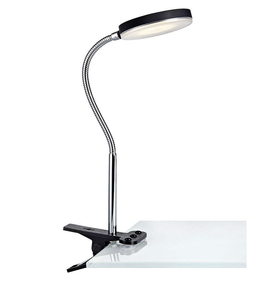 FLEX Klip 1L LED Czarny/Chrom
