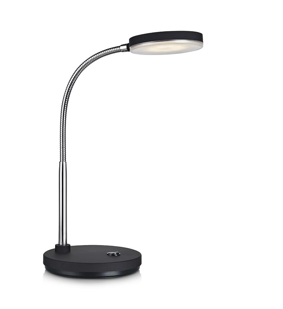 FLEX Stołowa 1L LED Biała/Chrom