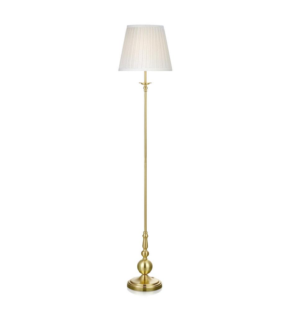 IMPERIA Podłogowa 1L Złoty Szczotkowany/Biały