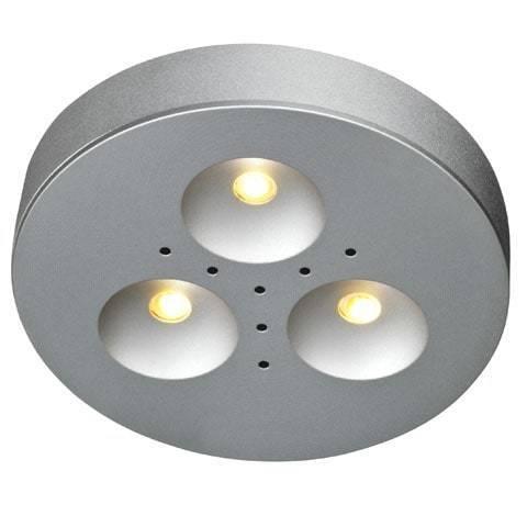KAPPA oczko sufitowe 3x1W 3-Komplet Aluminum