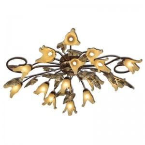 Żyrandol, lampa wisząca Anturium