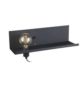 MULTI Kinkiet USB 1L Czarny small 0