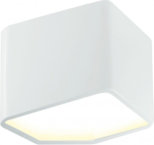 Nowoczesny Biały Kinkiet Space LED 6W