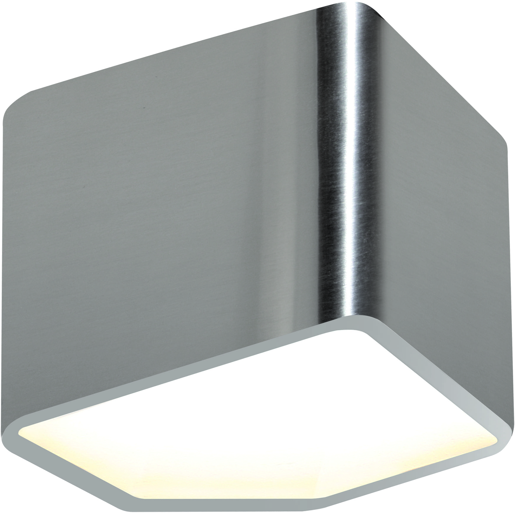 Chromowany Kinkiet Space LED z ciepłą barwa światła