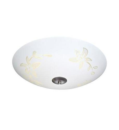 SOLARA Plafon 35cm Biały/Stal