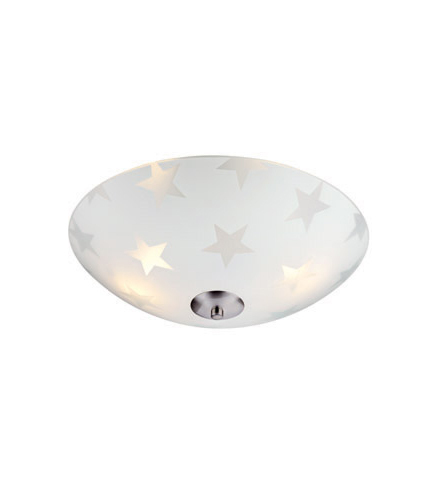 STAR LED Plafon 35cm Matowy/Stal