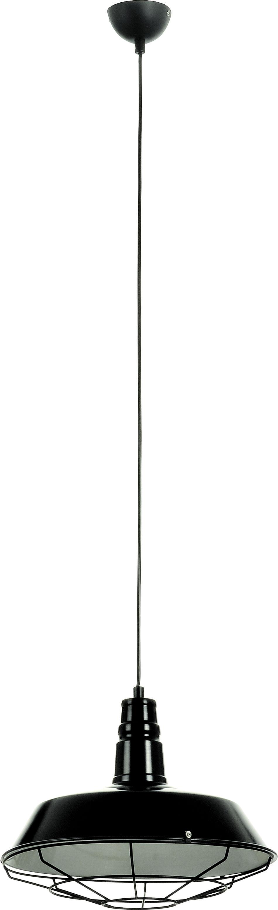 Lampa Wisząca Industrialna Lofti Czarna 60W