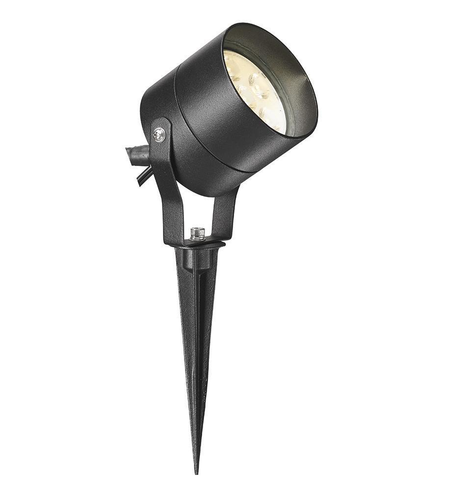 TRADGARD Spotlight 6x1W Czarny