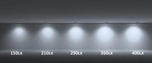 Oprawa wpuszczana Vario Lumen biała konfigurowalna Nowość small 1