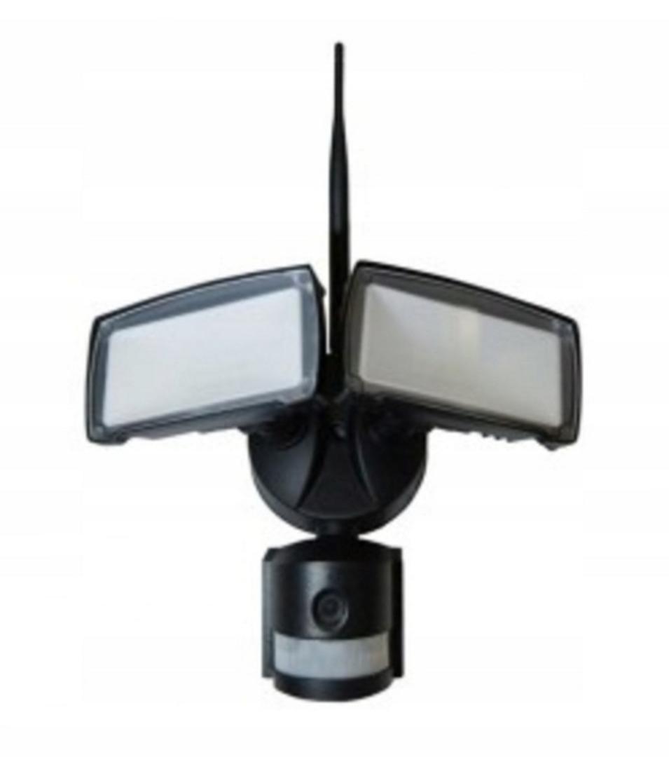 Lampa Zewnętrzna Led Z Czujnikiem Ruchu I Kamerą Hd Wifi Smart