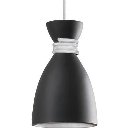 Czarno-biała Lampa Wisząca Noreen