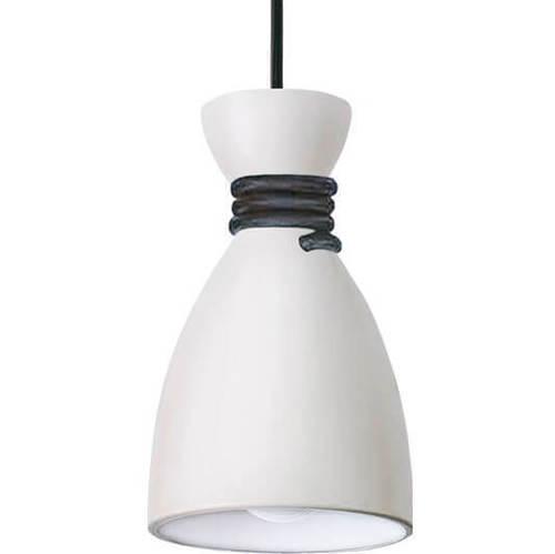 Biało-czarna Lampa Wisząca Tessa