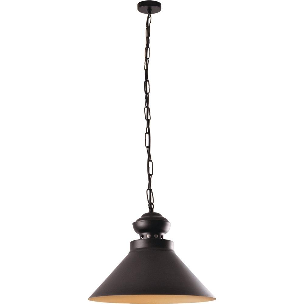 Czarno-złota Metalowa Lampa Dominika