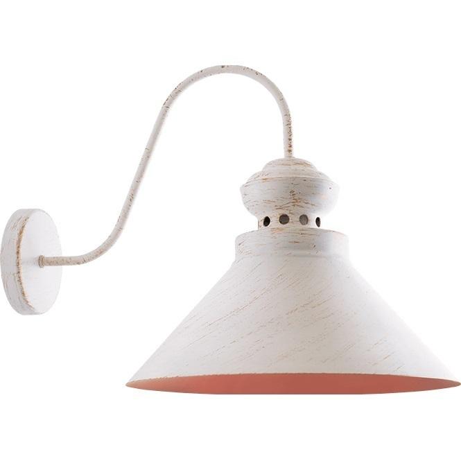 Biało-złota Lampa Kinkiet Daphne