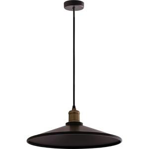 Czarna Metalowa Lampa Wisząca Elaine small 1