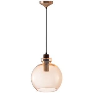 Ambre Szklana Lampa  Wisząca Grace small 0