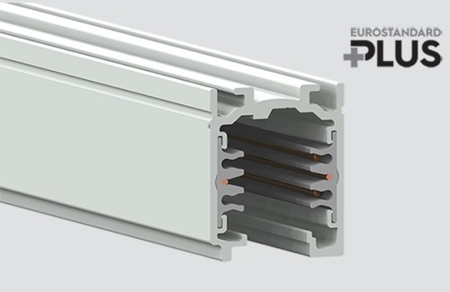 Szynoprzewód EUROSTANDARD PLUS dł. 300cm (RAL 9010) STUCCHI biały