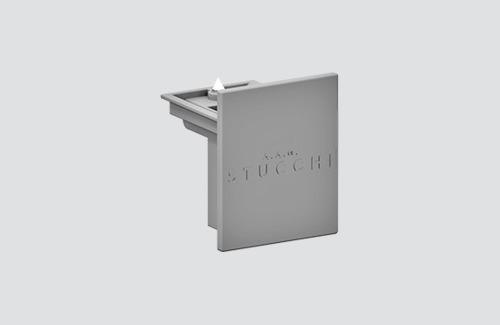 Zaślepka 9004/W STUCCHI biały, czarny, szary