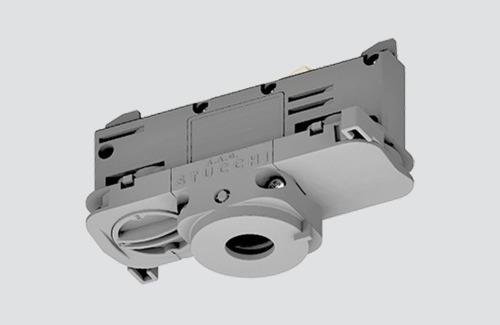 Adapter oprawy DALI 9009/W STUCCHI z selektorem fazy biały, czarny, szary