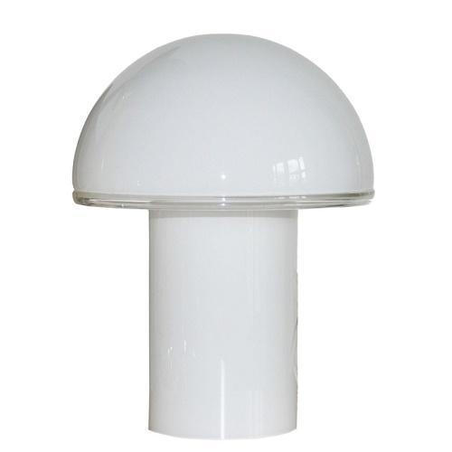 Onfale Medio Artemide biała lampka stołowa