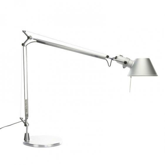 Lampa biurkowa Artemide Tolomeo Aluminium A001000+A004030