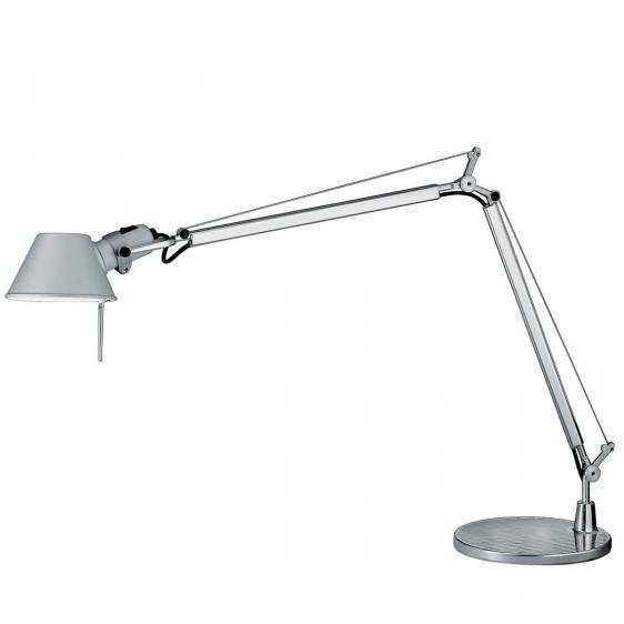 Lampa biurkowa Artemide Tolomeo Mini aluminium