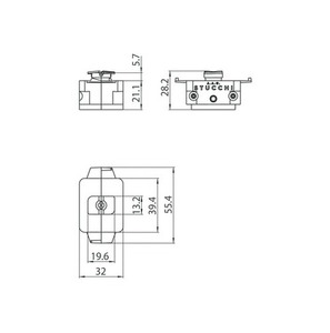 Adapter mechaniczny STUCCHI, biały, czarny, szary small 1