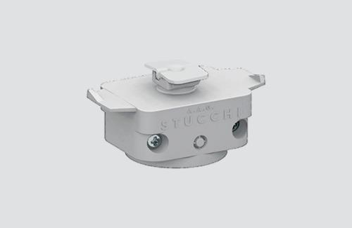 Adapter mechaniczny STUCCHI, biały, czarny, szary