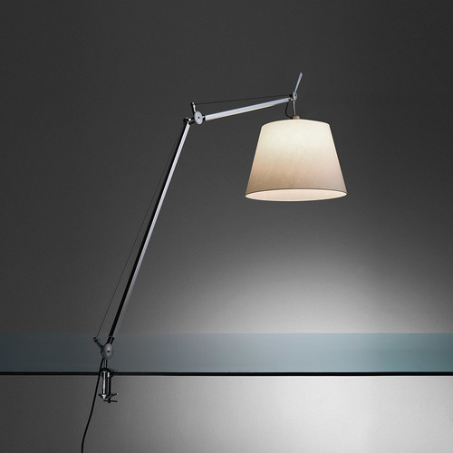 Lampa zaciskowa biurkowa Artemide TOLOMEO Mega 0564010A ø32cm