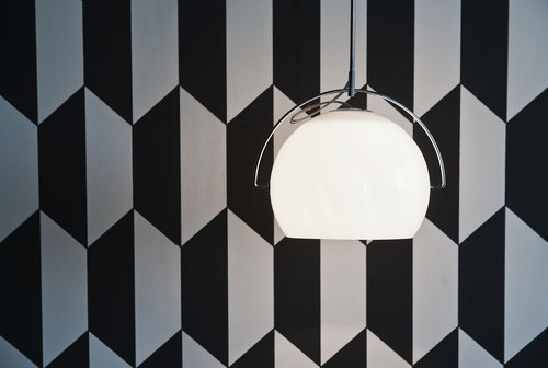 Lampa wisząca Fabbian Beluga White D57 5W 14cm - D57A19 01