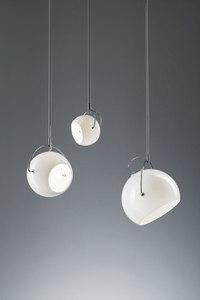 Lampa wisząca Fabbian Beluga White D57 13W 20cm - D57A21 01 small 1