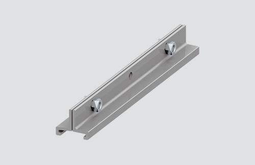 Uchwyt do zawiesia długi STUCCHI DOUBLE, aluminium, czarny, biały