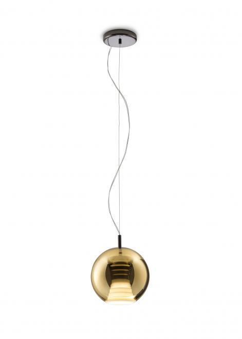 Lampa wisząca Fabbian Beluga Royal D57 7W 20cm - Złoty - D57 A51 12