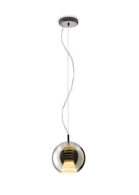 Lampa wisząca Fabbian Beluga Royal D57 7W 20cm - Tytan - D57 A51 34