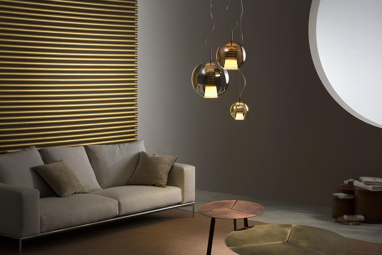 Lampa wisząca Fabbian Beluga Royal D57 7W 20cm - Brąz - D57 A51 41