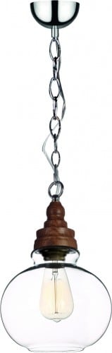 Lampa industrialna na łańcuchu Edvin