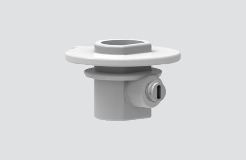 Złączka plastikowa ze śrubą blokującą do adapterów 9009, szynoprzewody STUCCHI