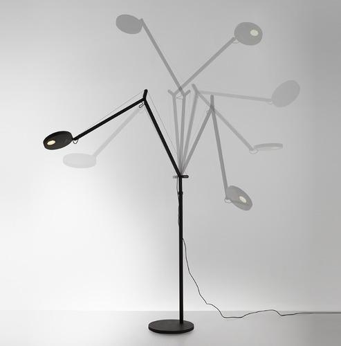 Lampa podłogowa do czytania Artemide DEMETRA Antracyt 3000K/2700K