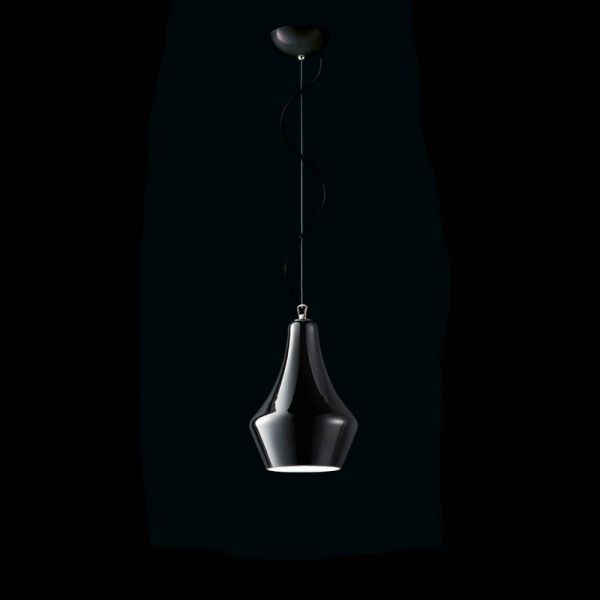 Lampa wisząca MuranoDue Alma S30 czarna