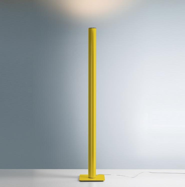 Lampa podłogowa Artemide ILIO żółta 3000K/2700K