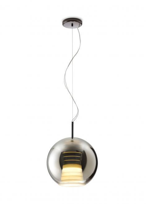 Lampa wisząca Fabbian Beluga Royal D57 17W 30cm - Tytan - D57 A53 34
