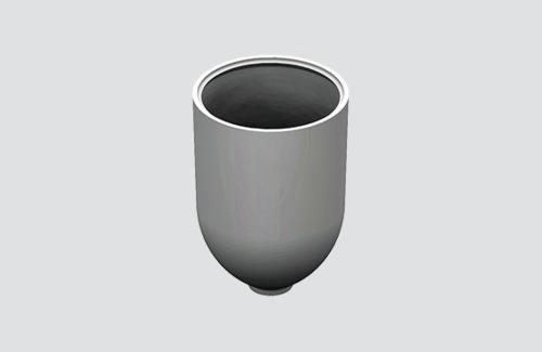 Osłona mocowania do linki o śr. 1,5 mm, STUCCH, biały, czarny, szary