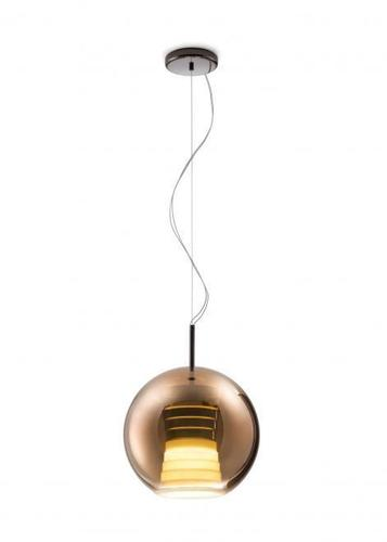 Lampa wisząca Fabbian Beluga Royal D57 17W 30cm - Brąz - D57 A53 41