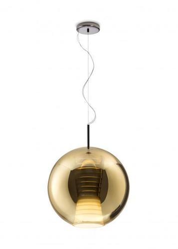Lampa wisząca Fabbian Beluga Royal D57 17W 40cm - Złoty - D57 A55 12