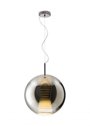Lampa wisząca Fabbian Beluga Royal D57 17W 40cm - Tytan - D57 A55 34