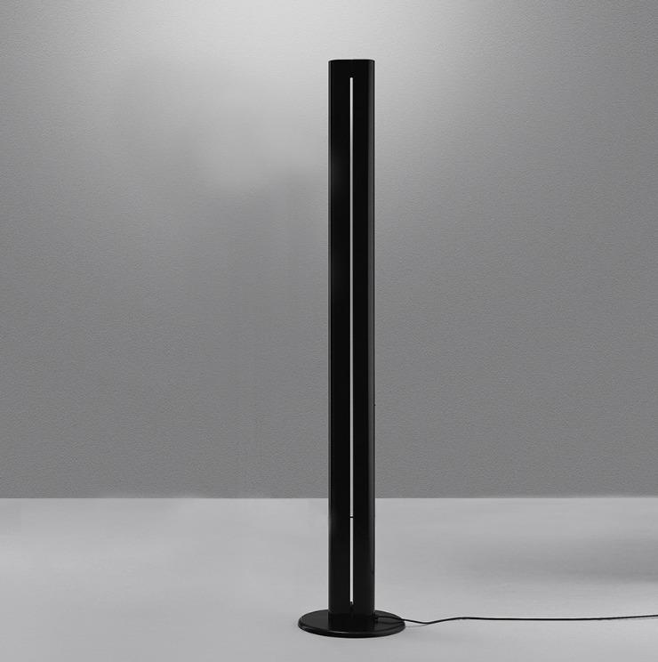 Lampa podłogowa Artemide MEGARON czarna 3000K/2700K